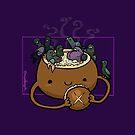 Chowder Bowl :: Fleischfressende Nahrungsmittelserie von missdaisydee