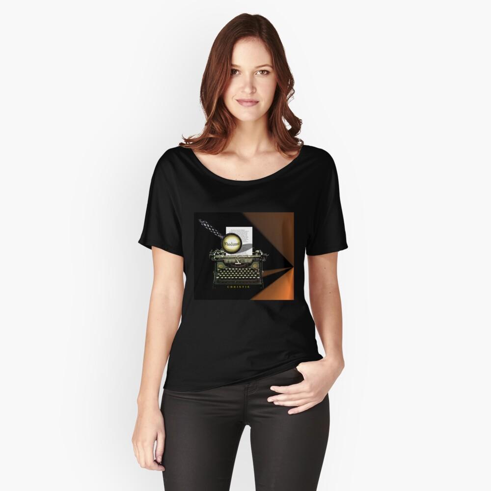 Agatha Christie kennt Whodunnit! Loose Fit T-Shirt