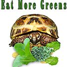 Tortoise - Eat More Greens by LuckyTortoise