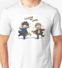 BBC Sherlock - Clueing for Looks T-Shirt