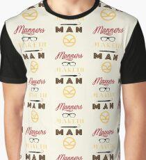 Camiseta gráfica Los modales hacen al hombre