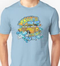 Surfer woody's t shirt Unisex T-Shirt