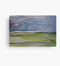 Watercolor Landscape II Canvas Print