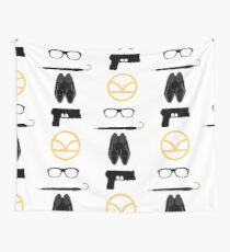 What are Kingsmen made of? Wall Tapestry