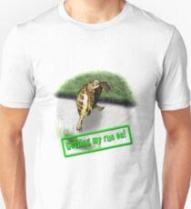 Tortoise - Getting my run on Unisex T-Shirt