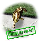 Tortoise - Getting my run on by LuckyTortoise