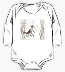 Fashion Circus Illustration One Piece - Long Sleeve