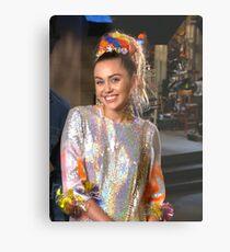 Miley Cyrus SNL 2015 Metal Print