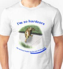 Tortoise - hardcore workout Unisex T-Shirt