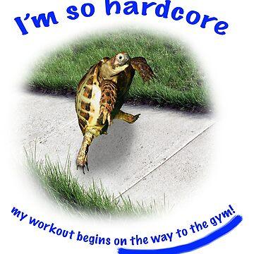 Tortoise - hardcore workout by LuckyTortoise