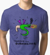 Trogdor, The Burninator Tri-blend T-Shirt