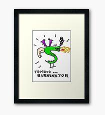 Trogdor, The Burninator Framed Print