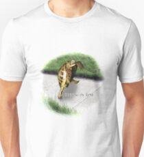 Tortoise - Running on time Unisex T-Shirt