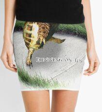 Tortoise - Running on time Mini Skirt