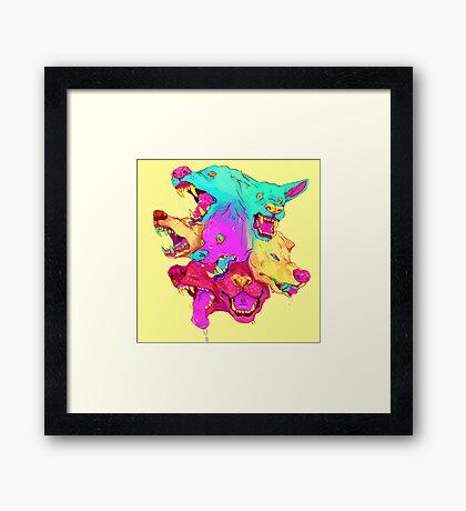 Pileup Framed Print