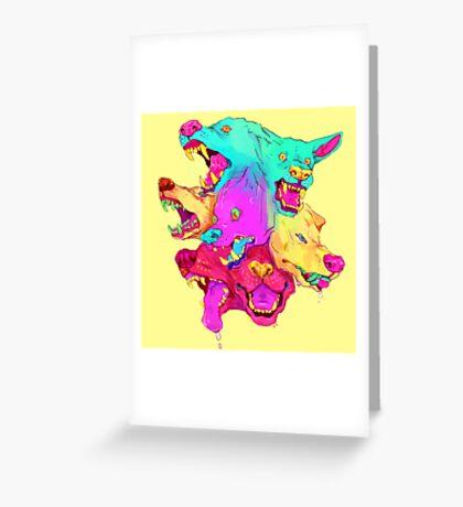 Pileup Greeting Card
