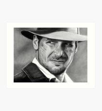 Indiana Jones - Harrison Ford Art Print