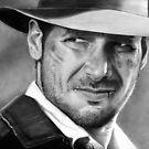 Indiana Jones - Harrison Ford by cfischer83