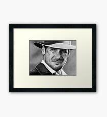 Indiana Jones - Harrison Ford Framed Print