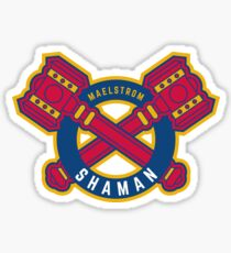 Shaman - WoW Baseball Series Sticker