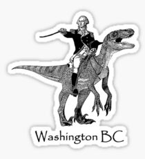 Washington, BC Sticker