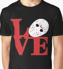 LOVE Friday the 13th Graphic T-Shirt
