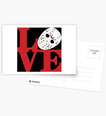 LOVE Friday the 13th Postcards