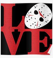 LOVE Friday the 13th Poster