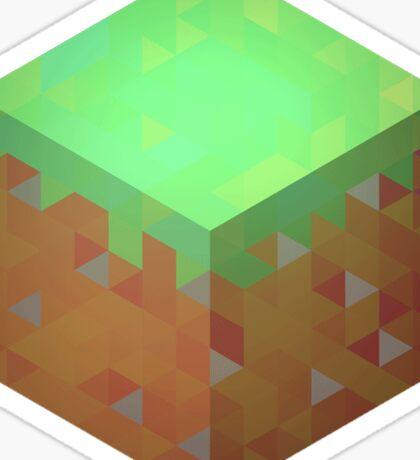 Minecraft Block Sticker