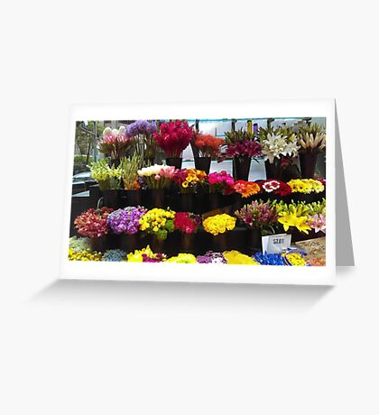 Frisco Flowers Greeting Card