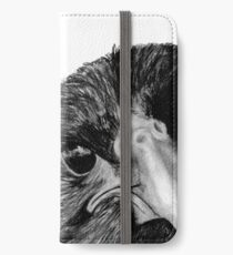The Secret of the Raven iPhone Wallet
