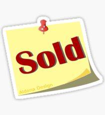 Sold Sticker Sticker