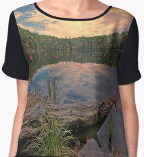 The Setting Sun Women's Chiffon Top