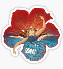 Flower Hawaii Pele Sticker