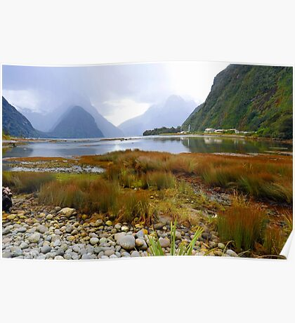 Milford Sound. South Island. New Zealand. (4) Poster