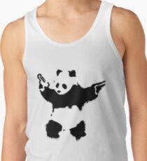 Banksy - Panda With Guns Tank Top