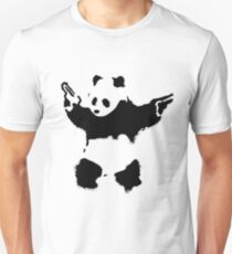 Banksy - Panda With Guns T-Shirt