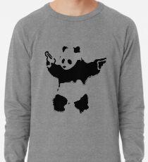 Banksy - Panda With Guns Lightweight Sweatshirt