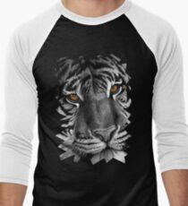 Siberian Tiger Men's Baseball ¾ T-Shirt