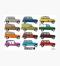 Renault 4 Photographic Print