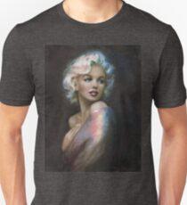 Marilyn Romantic W'W 4 blue Unisex T-Shirt