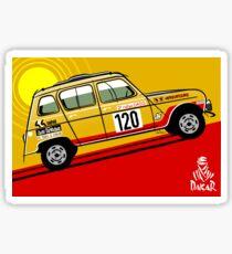 Renault 4 Sinpar 4x4 Sticker