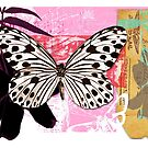 the butterfly of happiness by Carolynne