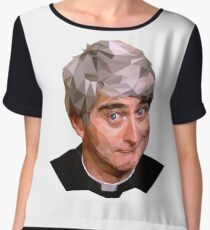 Father Ted Women's Chiffon Top