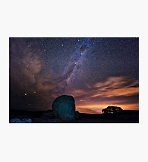 Milky Way Down Under Photographic Print