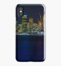Sydney CBD by Night iPhone Case/Skin