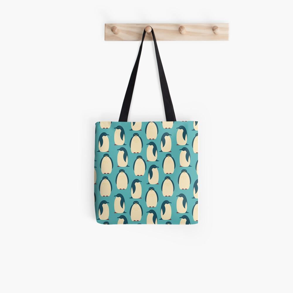 Happy penguins Tote Bag