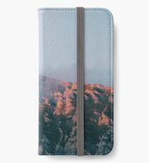 Mountains in the background VI iPhone Wallet/Case/Skin