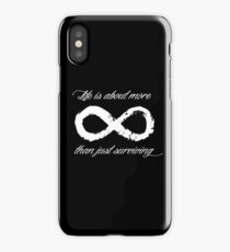 Life Infinite (Black) iPhone Case/Skin