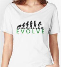 Funny Women's Gardening Evolution Women's Relaxed Fit T-Shirt